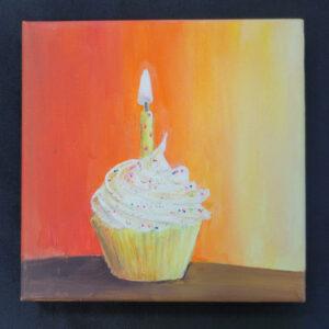 Celebration Cupcake - 6x6 Fundraiser - Cecil County Arts Council
