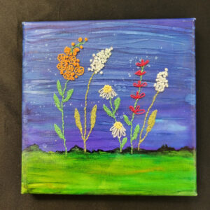 Wildflowers - 6x6 Fundraiser - Cecil County Arts Council