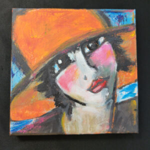 Big Orange Hat - 6x6 Fundraiser - Cecil County Arts Council