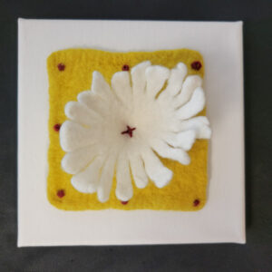 Blooming Flower - 6x6 Fundraiser - Cecil County Arts Council