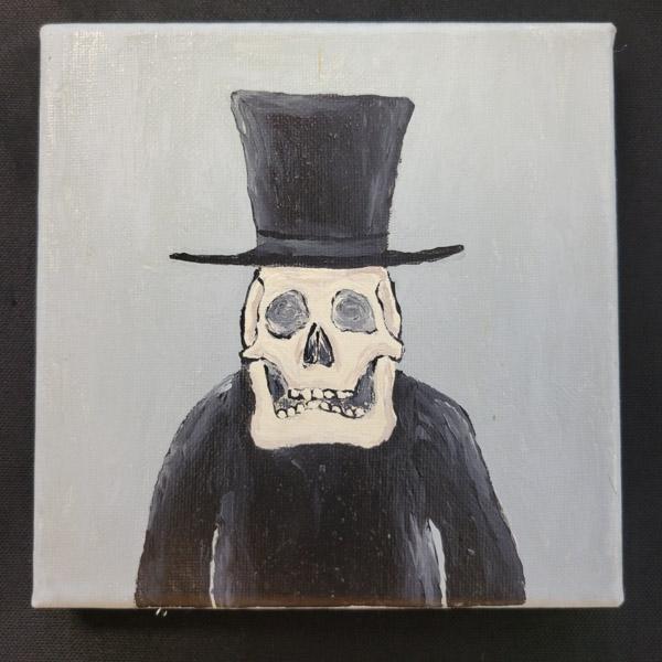 Mr. Bones - 6x6 Fundraiser - Cecil County Arts Council