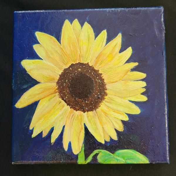 Sunflower - 6x6 Fundraiser - Cecil County Arts Council