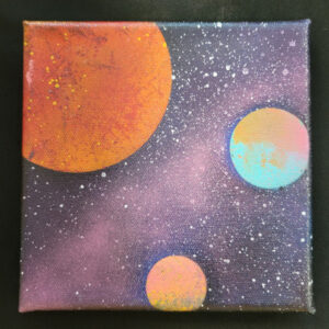 Galaxy Sky - 6x6 Fundraiser - Cecil County Arts Council