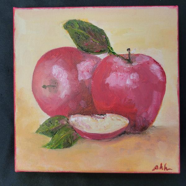 Apple Bunch - 6x6 Fundraiser - Cecil County Arts Council