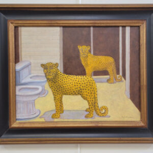 Sharon Gallagher - Jaguars at the Urinals - $400