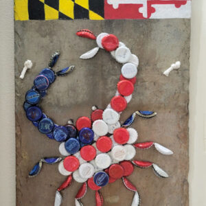 Colleen Tiefenthal - Bottle Cap Crab - $45