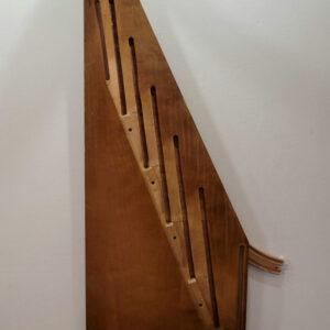 Maggie Creshkoff - Wooden Giraffe - $100